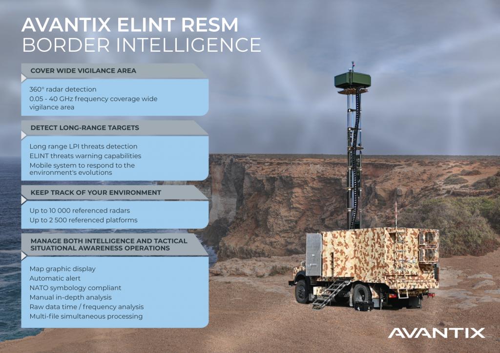 Avantix ELINT RESM land system